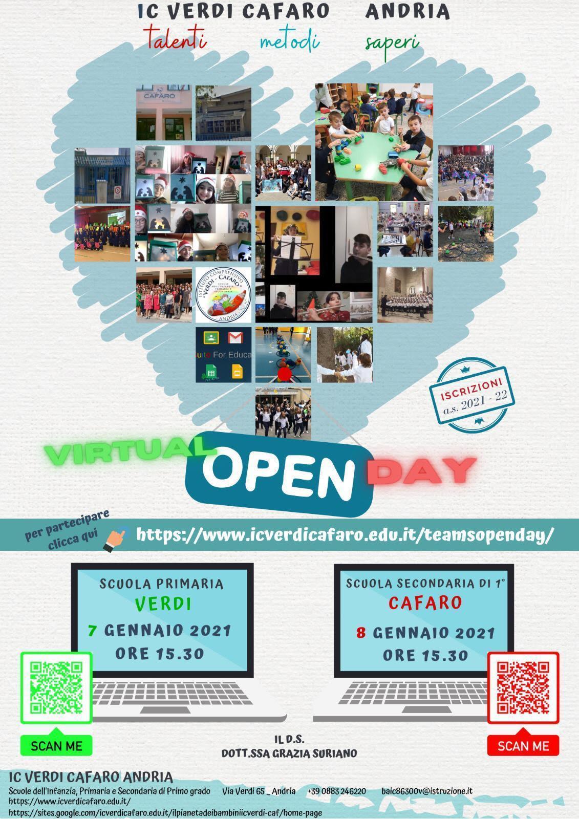 Locandina OpenDay 2021